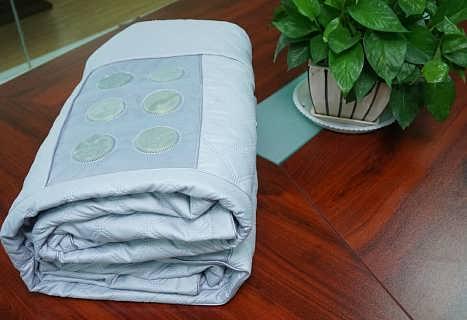 直销产品台湾软玉水疗床垫48枚玉石能量磁疗床垫低价促销-天津陶然堂床上用品有限公司