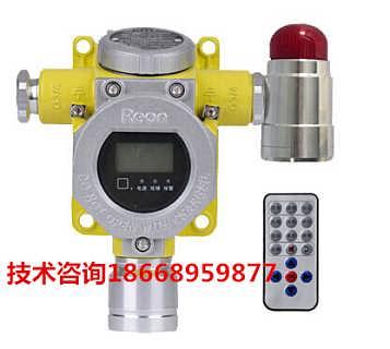喷漆房调漆室可燃气体报警器 探测油漆浓度报警器装置-山东如特安防设备有限公司市场部