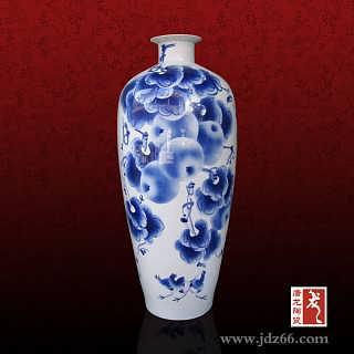 朋友新店开张送礼品陶瓷小花瓶,小瓷瓶桌面摆件