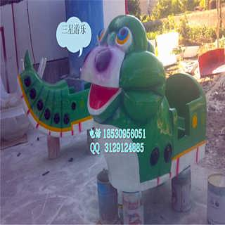 给你推荐一款好玩的儿童游乐设备那就是这款青虫滑车-荥阳市三星游乐设备厂-