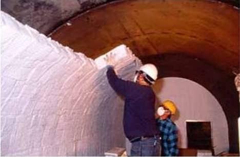 节能保温专用含锆型陶瓷纤维模块