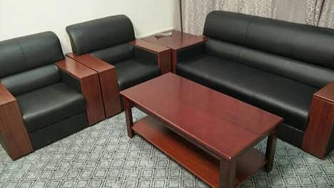 合肥热销办公沙发 前台桌椅电脑桌 茶水柜办公椅-合肥王帅家具有限公司市场部
