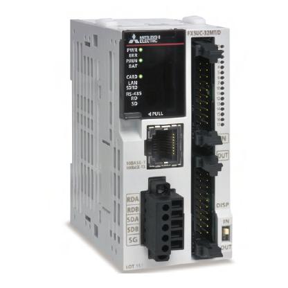 FX5UC-32MT/DSS 三菱PLC紧凑型 DC电源 16入/16晶体管-广州圆丰自动化科技有限公司销售部