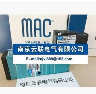 MAC电磁阀 411A-DOA-DM-DEDJ-1K-南京云联电气有限公司