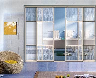办公室用玻璃隔成墙-上海林勇空调维修空调拆装服务