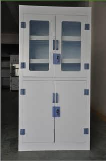 来宾PP药品柜实验室PP器皿柜耐酸碱PP试剂柜
