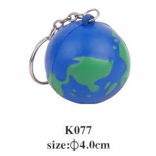pu仿真地球钥匙扣挂件 仿真水果蔬菜儿童玩具定制