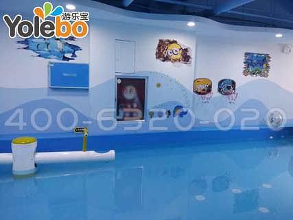 内蒙阿拉善盟地区生产定做儿童室内水上乐园的厂家