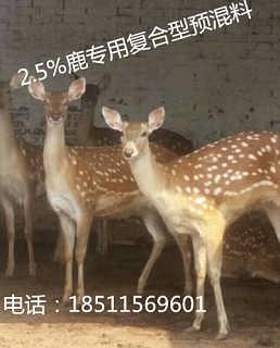 泽牧久远鹿预混料