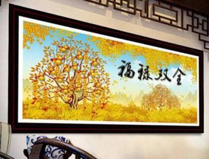 广东银秀钻石画,创从新中来,财源滚滚流
