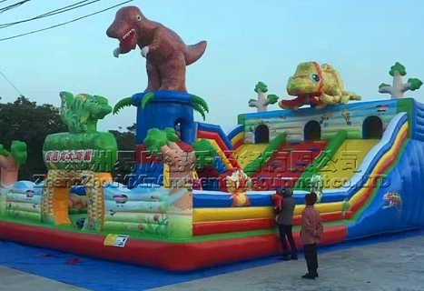 儿童滑梯蹦蹦床大型充气滑梯蹦床