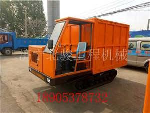 四川全地形农用小型履带运输车 履带自卸车链轨式搬运车