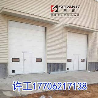 常熟厂房电动提升门-西朗门业(苏州)有限公司