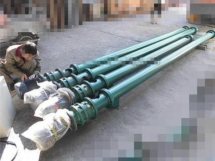 加厚圆管沙土提料机   粉末螺旋加料机  直连电机提料机