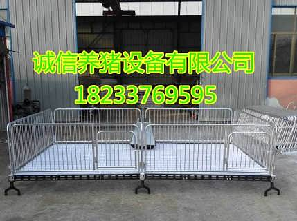 猪仔保育床热镀锌材料复合小猪保育床配置高