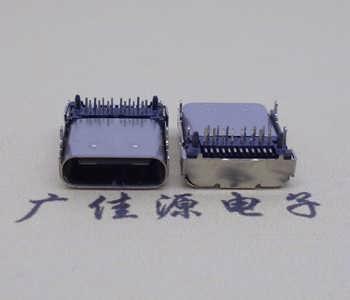 USB 3.1Type-C 端子 前插后贴 SMT+DIP母座双面插