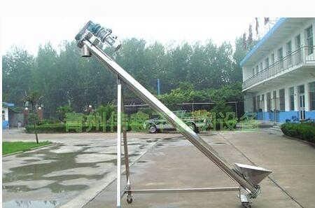 定制饲料螺旋提升机  275管径螺旋输送机
