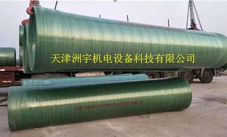 玻璃钢管道|隧道逃生专用-天津洲宇机电设备科技有限责任公司