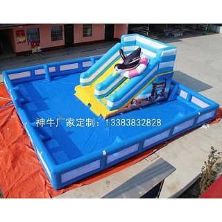 新型百万海洋球池护栏-郑州上街区神牛充气游乐设备厂