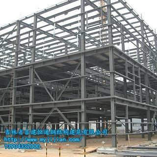 吉林钢结构厂房单层