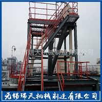 钛粉 石灰石 焦炭 尿素颗粒的管链输送机 可定制不同材质型号-无锡市瑞天机械制造有限公司