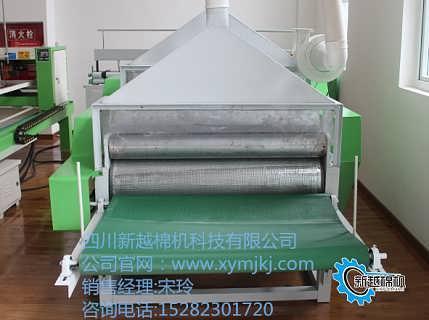 供应双棍双拉丝双吸尘弹花机XY-LSJ101-17S-四川眉山新越棉机科技有限公司
