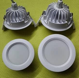 防水天花筒灯外壳配件