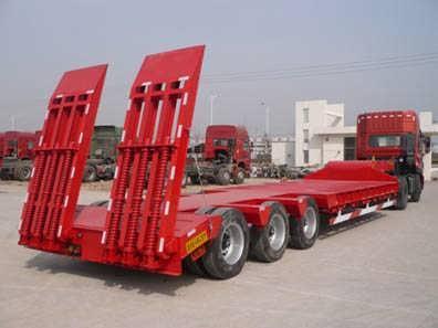 集装箱半挂车40英尺骨架挂车集装箱运输专用车轻量化