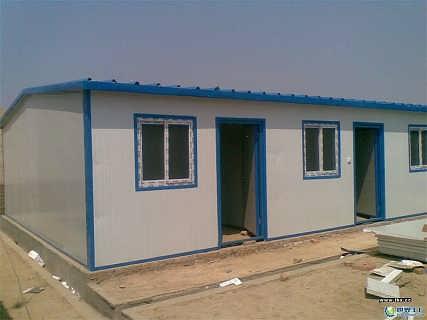 内蒙古乌海出口环保彩钢房钢结构活动房