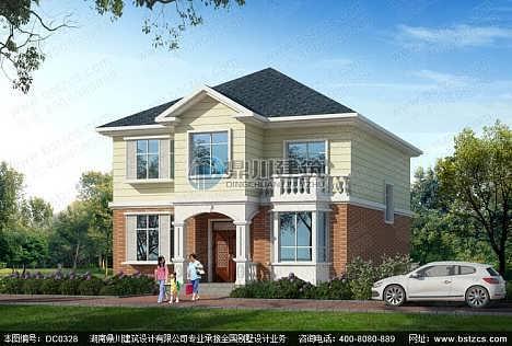 二层农村自建房设计_农村房屋二层小别墅设计效果图纸