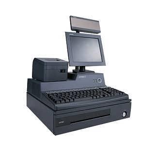连锁水果店称重收银系统-记录销售数据收银机-双屏显示收银机