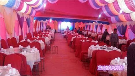 新疆五家渠欧式婚庆充气帐篷价格-郑州蓝客游乐设备有限责任公司