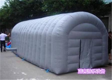 新疆昌吉高品质野营充气帐篷价格-郑州蓝客游乐设备有限责任公司