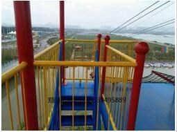 儿童滑索定制/景区滑索设备/郑州弘创游乐设备有限公司