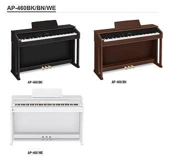 卡西欧电钢琴AP-460-汕尾海星琴行