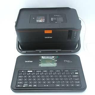 兄弟PT-E850TKW标签机网络线标识打码机
