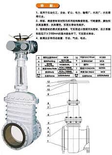 Z941电动陶瓷闸阀