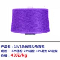 色纺弹力马海毛厂分享服装面料的性质
