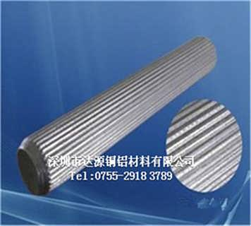 6060拉花铝棒,防滑专用铝合金棒