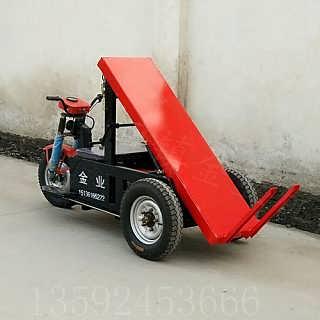 电动三轮拉砖车 水电瓶 建筑工地用电动自卸拉砖车