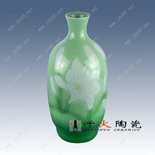 家居装饰陶瓷 客厅装饰瓷瓶 景德镇陶瓷花瓶厂家
