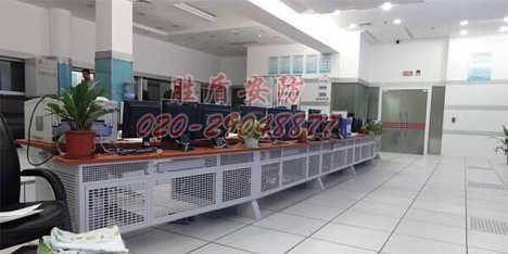 超市监控工程 单联监控台 监控操作台定做 小区监控工程