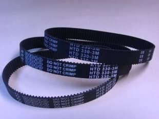 黑色橡胶同步带 T5-280(56齿)榨汁机专用同步带