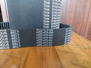 捷顺摆闸机皮带 5GT-390-15mm-上海普项工业皮带有限公司-业务部