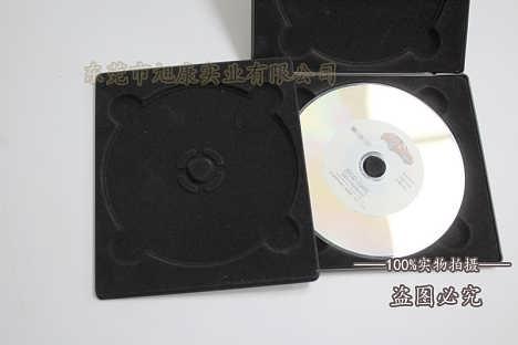 吸塑厂家定制 车载CD吸塑包装盒 植绒吸塑内衬