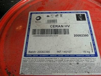 江苏道达尔TOTAL CERAN HV润滑脂-山东沃德工业技术有限公司