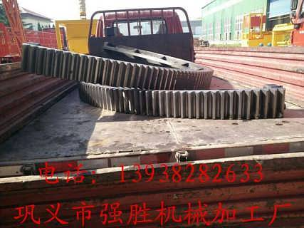 齿轮专业生产厂家 专业生产加工烘干机大齿轮