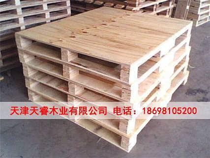 天津东丽二手木托盘回收-天睿木业