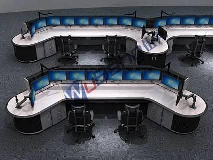 金融办公台优惠促销 金融办公桌优惠促销 研判台优惠促销