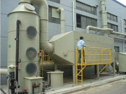 电池厂产生的废气用什么方法处理